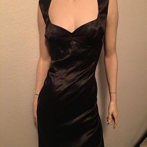 Dolce & Gabbana silky pencils skirt dress.Sexy